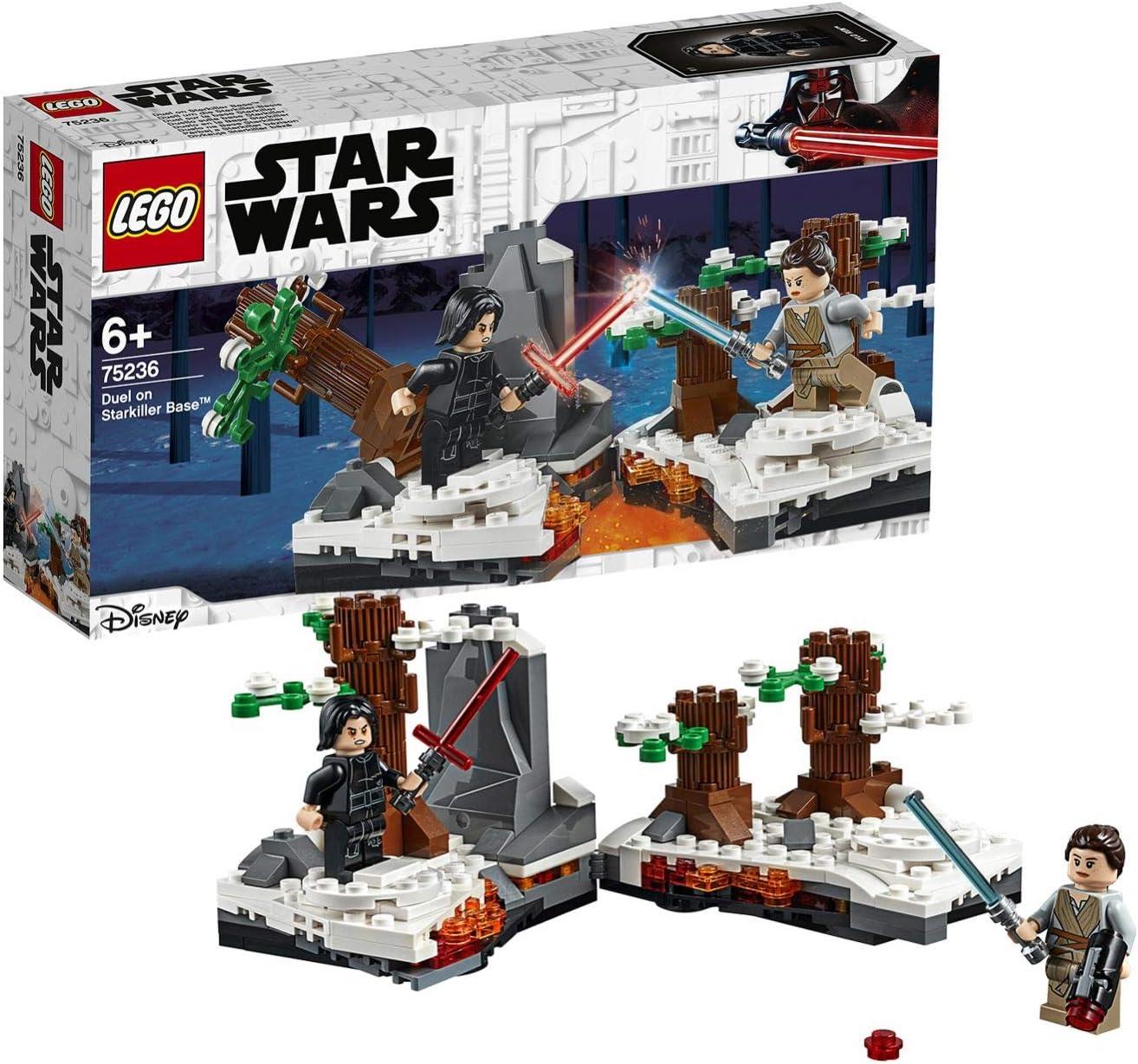 LEGO Star Wars - Duelo en la Base Starkiller, Juguete de Aventuras ...