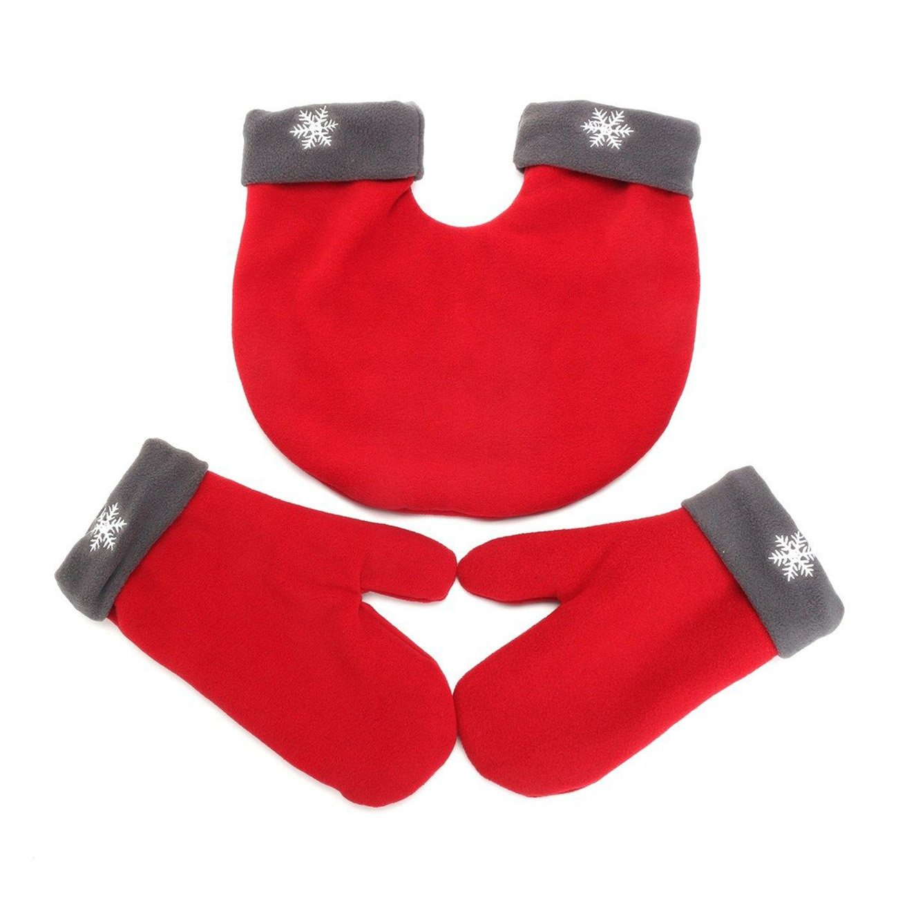 THEE Christmas Lovers Couples Winter Mittens Gloves Valentine's Gift PFFPST625r