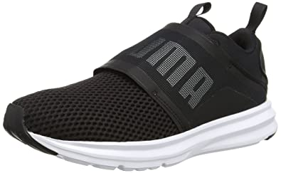 4d0d15e62eccf5 Puma Women s Enzo Strap WN s Black Running Shoes-3 UK India (35.5 EU ...
