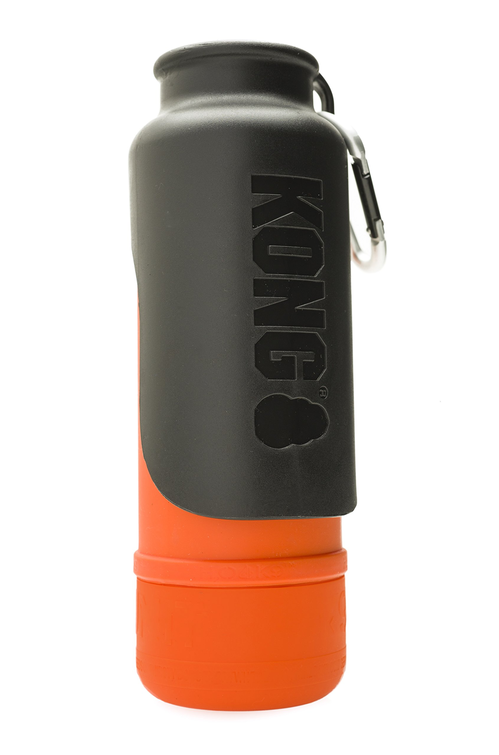 KONG H2O - Insulated Stainless Steel Dog Water Bottle - 25 oz - Orange