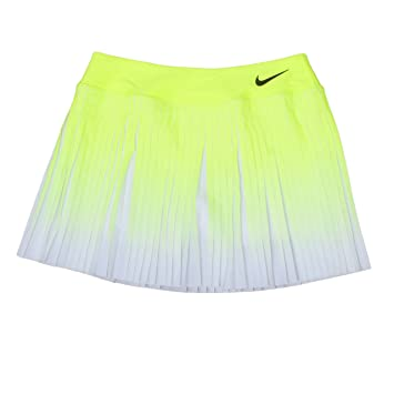 Nike W Nk FLX Vctry Skirt Premier Falda, Mujer, Amarillo (Volt/Negro), M: Amazon.es: Deportes y aire libre