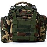 PeachCraft 多機能バッグ Lサイズ 4WAY ウエストバッグ メッセンジャーバッグ ハンドバッグ 自転車用バッグ