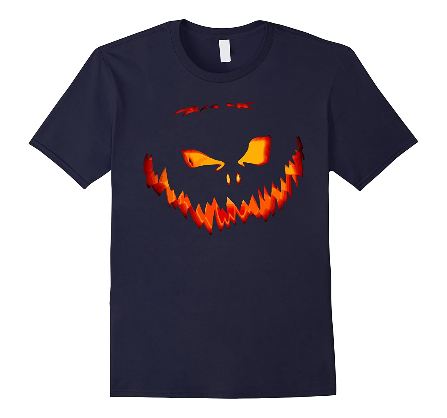 Jack O Lantern Shirt - Halloween Scary Simple Party-BN