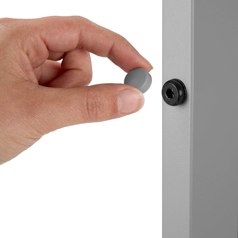 Robusta Intelaiatura in Alluminio Argento   No. 402955 TecTake 800587 Pannelli dall/'Effetto Legno Disponibile in Diversi Colori Tavolo da Giardino