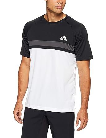 adidas Colorblock Club Camiseta, Hombre: Amazon.es: Ropa y accesorios