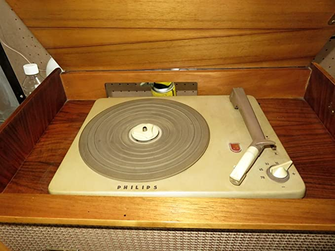 ANTIGUA RADIO TOCADISCOS HORNYPHON Musikmeister 60 WH489A STEREO ...