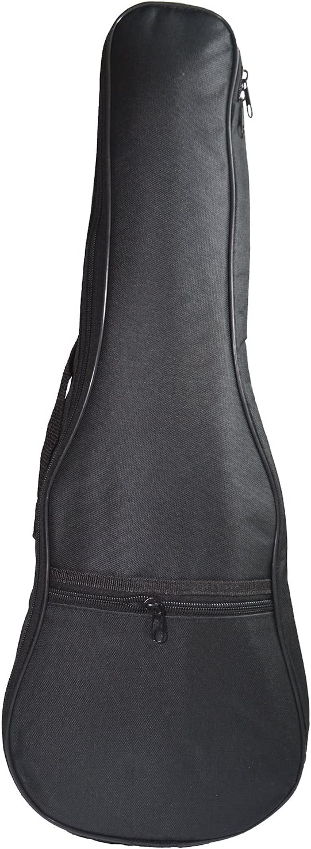 Majowir Soprano Ukulele Case Black Ukulele Padding Bag for 21 Inch Ukulele