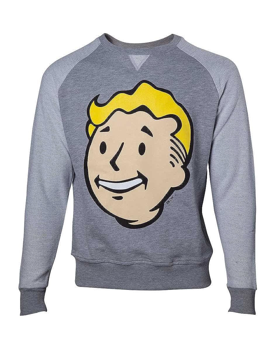 Fallout 4 - Vault Boy Jersey gris/gris Claro