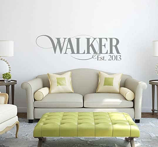 Amazoncom Personalized Family Name Signs Name Wall Decal - Wall decals about family