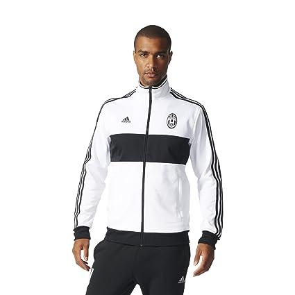 8ba855030 Adidas Mens Adidas Soccer Men's Juventus 3 Stripe Track Top, White/Black, X