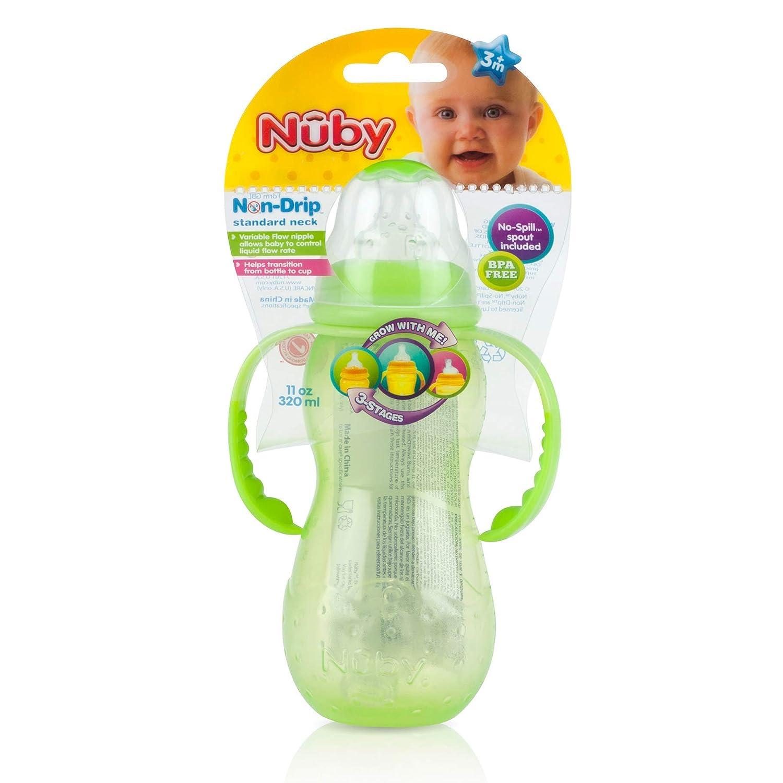 特価 Nuby 11オンス 3ステージ 液垂れしないボトル 11オンス 1110 Nuby 1110 B001TBRMPA, ヤツカチョウ:bb2479b2 --- a0267596.xsph.ru