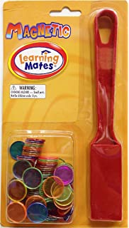 colors may vary 736601 Dowling Magnet MAGNETIC WAND /& 20 COUNTING CHIPS