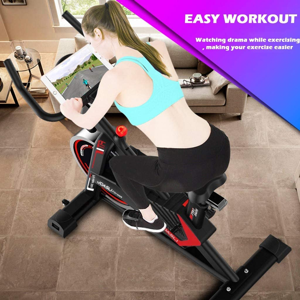 Indoor Bicycle Cycling Exercise Bike Stationary Fitness Cardio Indoor Home 440lb