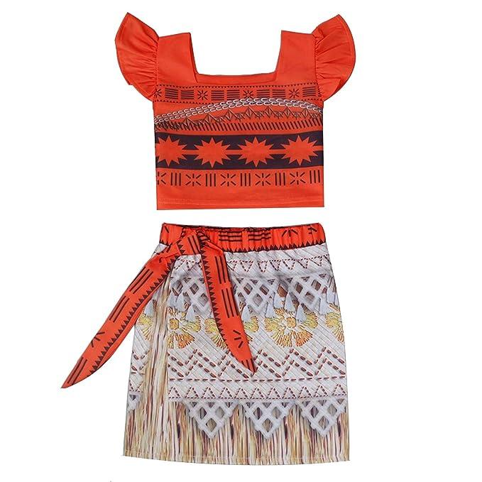 Amazon.com: Miyetro - Vestido de verano para niñas, diseño ...