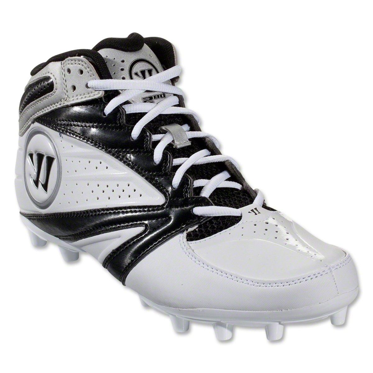 Warrior Men's 2nd Degree 3 Lacrosse Shoe B00F15ELJA 9.5 D(M) US White/Black