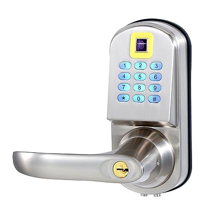 Ezlock electrónica teclado con retroiluminación sin llave cerradura de la puerta, apertura por código,