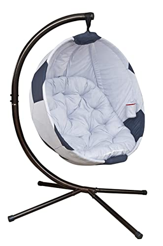 Flowerhouse Soccerball Hanging Lounge Chair with Stand FHSB100