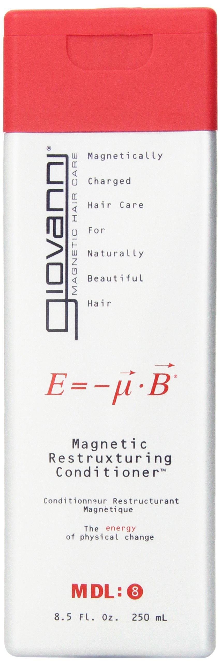 GIOVANNI HAIR CARE PRODUCTS COND,MAGNETIC,RESTRUXTURE, 8.5 FZ, 3 pack