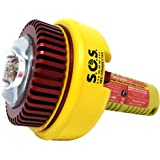 Sirius Signal SOS LED Electronic Visual Distress Signal with Daytime Distress Flag, and Whistle - CG Approved