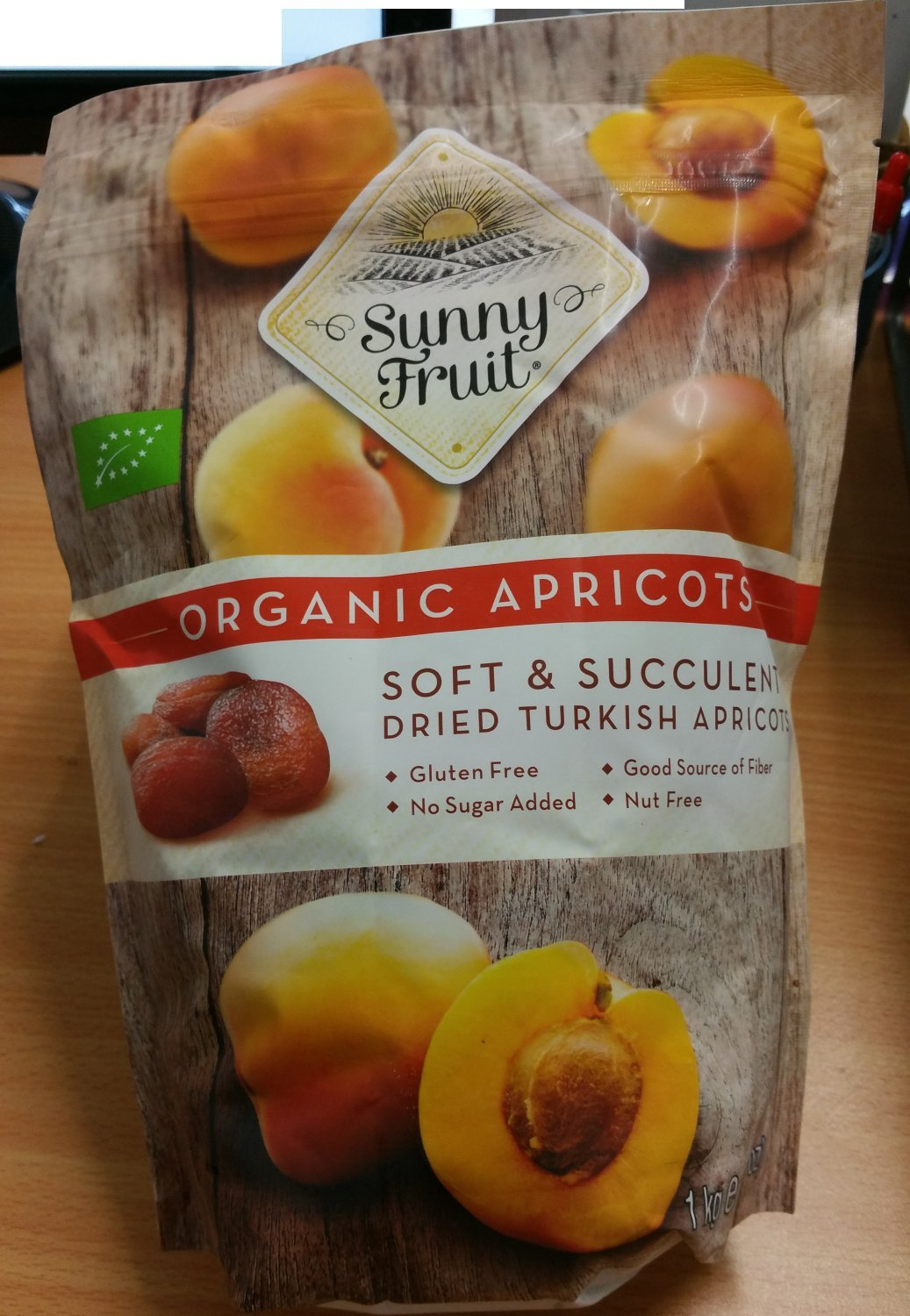 Sunny Fruit Organic Apricots Soft And Succulent By 1Kg