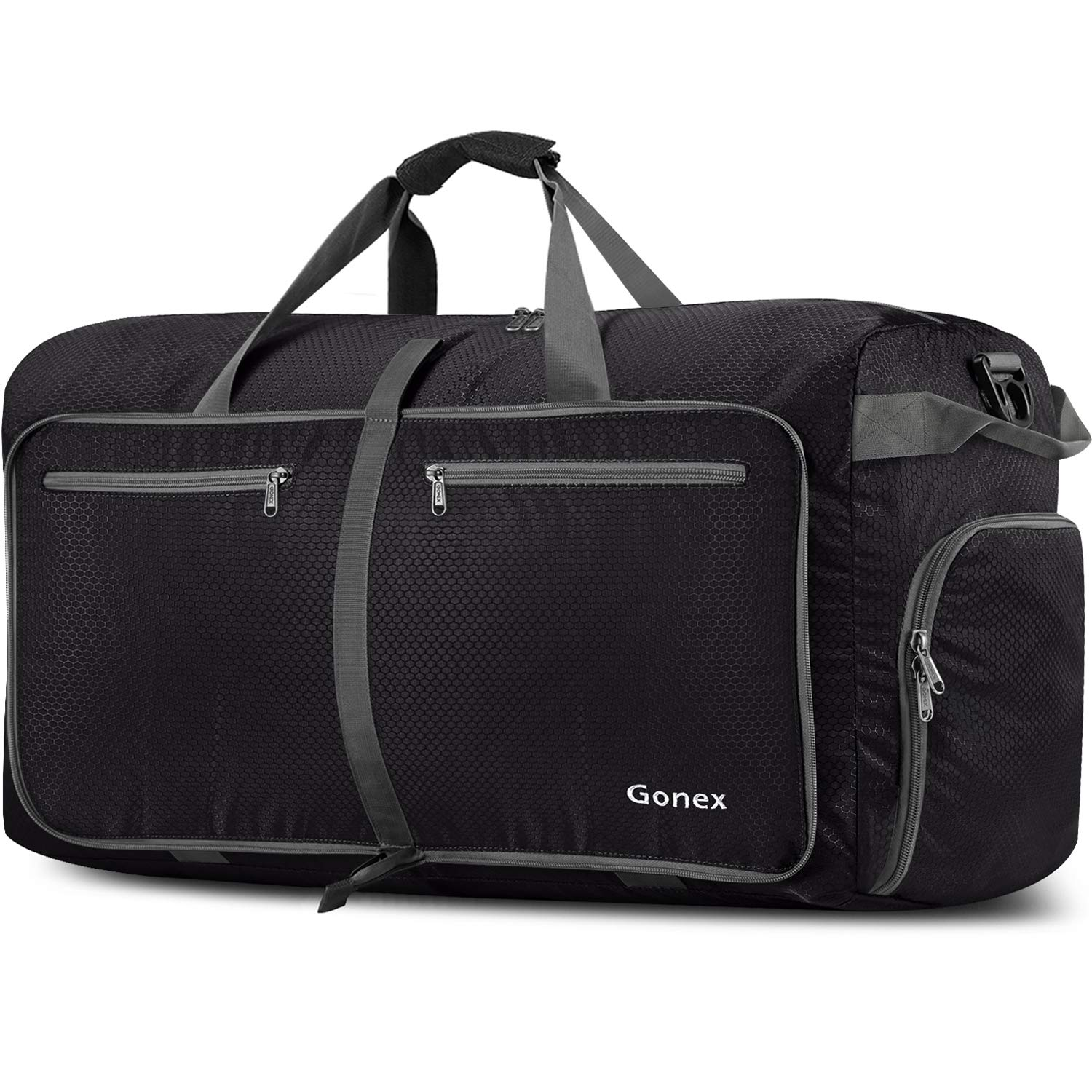 Gonex 150L Extra Large Duffle Bag, Packable Travel Luggage Shopping XL Duffel Black