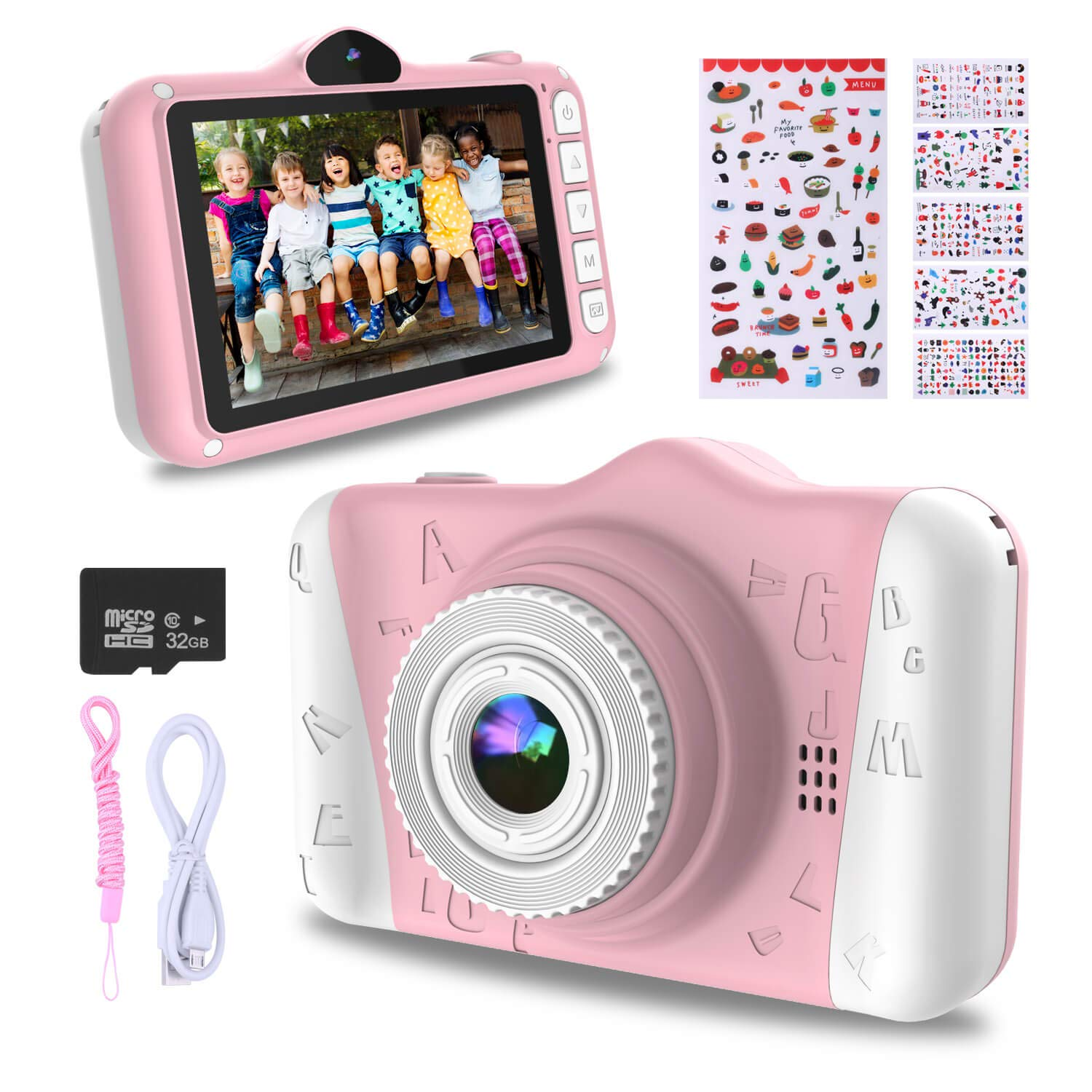 wowgo-kids-digital-camera-12mp-childrens-camera-with-large-screen-for-boys-and-girls-1080p-rechargeable-electronic-camera-with-32gb-tf-card