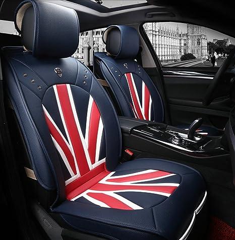 Amazon.com: Diseño de bandera británica General coche cojín ...