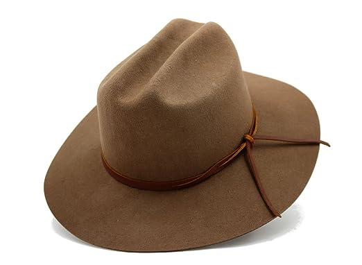 d9d41895 AccessHeadwear Alpas Men's Conner Light Brown 100% Wool Felt ...