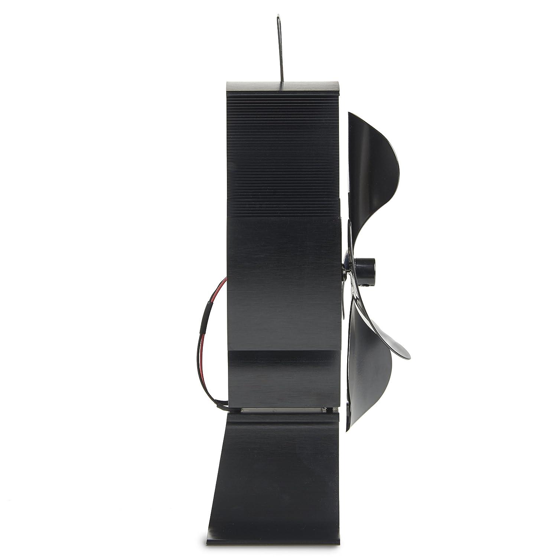vonhaus 4 blade heat powered wood stove fan ultra quiet