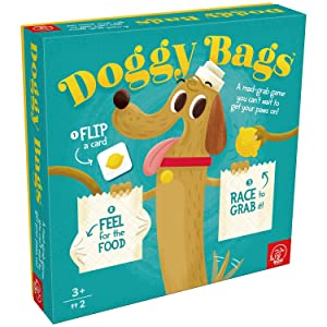 ROO GAMES Doggy Bags - Be the First to Find Franky's Food - For Ages 3+ - A Fun Grab Game for Toddlers and Families