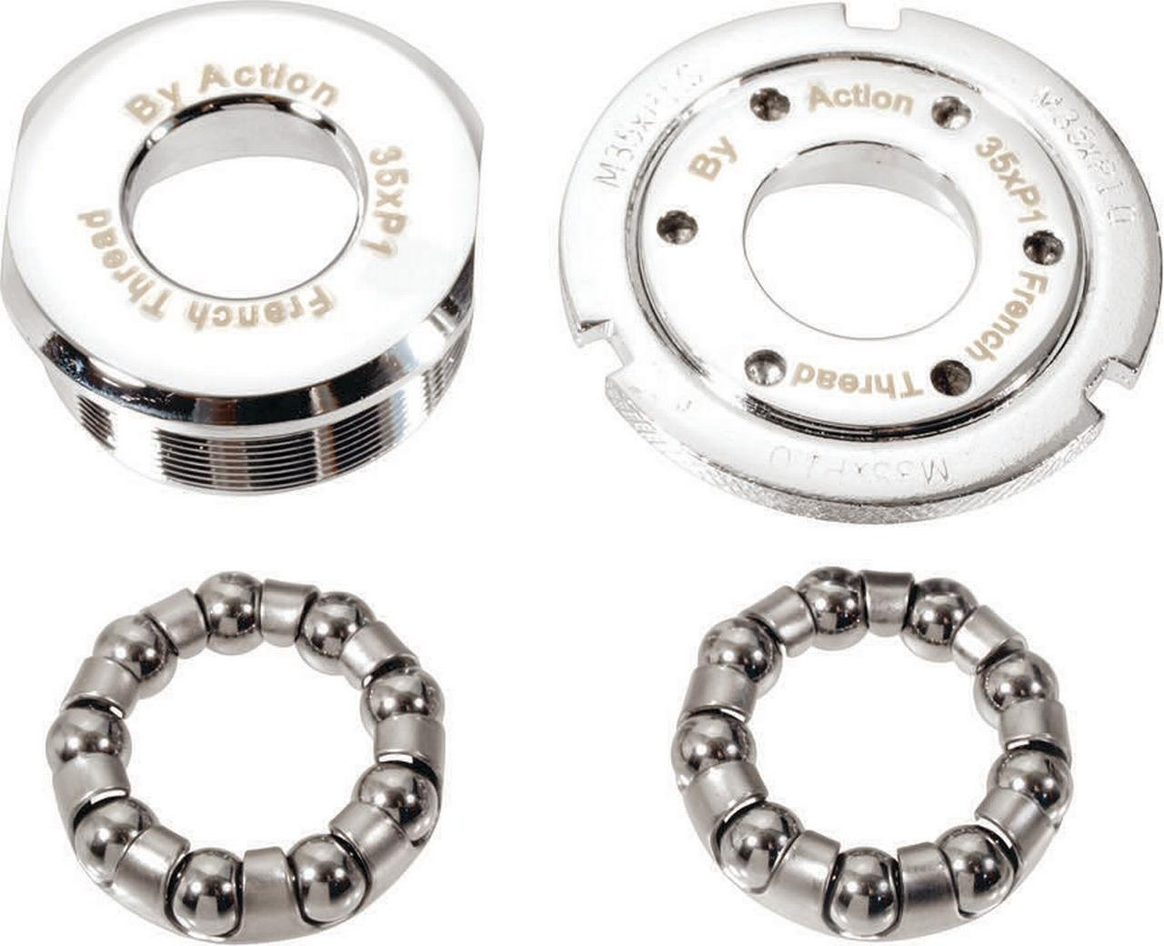 Action Tretlager Cup Set French 35 x 1,0 mm 2 x Rechts W Halterung