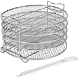 Dehydrator Rack Compatible with Ninja Foodi 6.5 and 8 qt, Instant Pot Duo Crisp 8 Quart, Foodi Dehydrator Stand with…