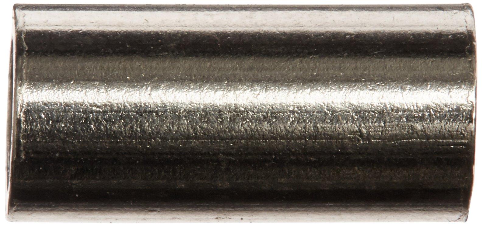 American Fishing Wire Single Barrel Crimp Sleeves Size 0 Black Color 0.025