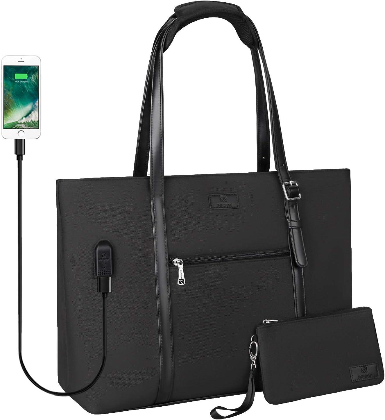 HDHUA Laptop Bag Professional Custom Business Backpack Waterproof USB Charging Minimalist Shoulder Bag 15.6 Inch Laptop Bag Oxford Cloth