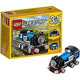 LEGO Creator 31054 - Locomotiva, Blu