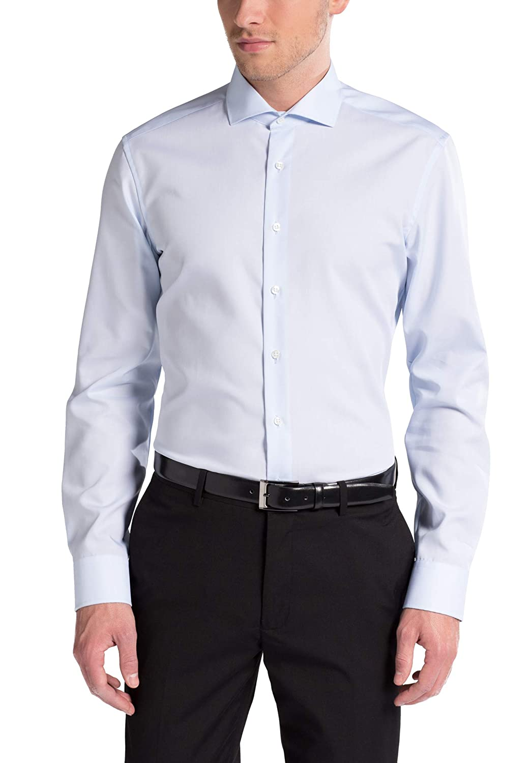 Eterna Long Sleeve Shirt Slim FIT Poplin Uni