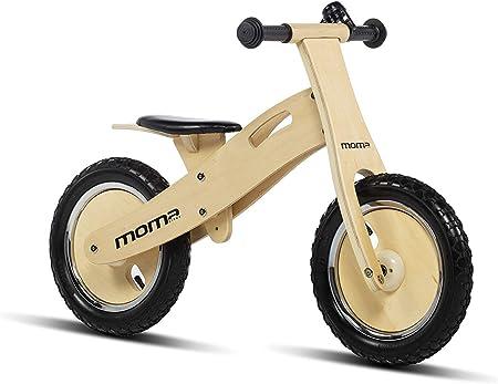 Moma Bikes Woody Classic Bicicleta, Unisex niños, Madera, Talla única: Amazon.es: Hogar