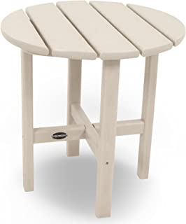 "product image for POLYWOOD RST18SA Round 18"" Side Table, Sand"
