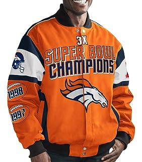 489bc5a0413 Amazon.com   Denver Broncos 3 Time Super Bowl 50 Champions Cotton ...
