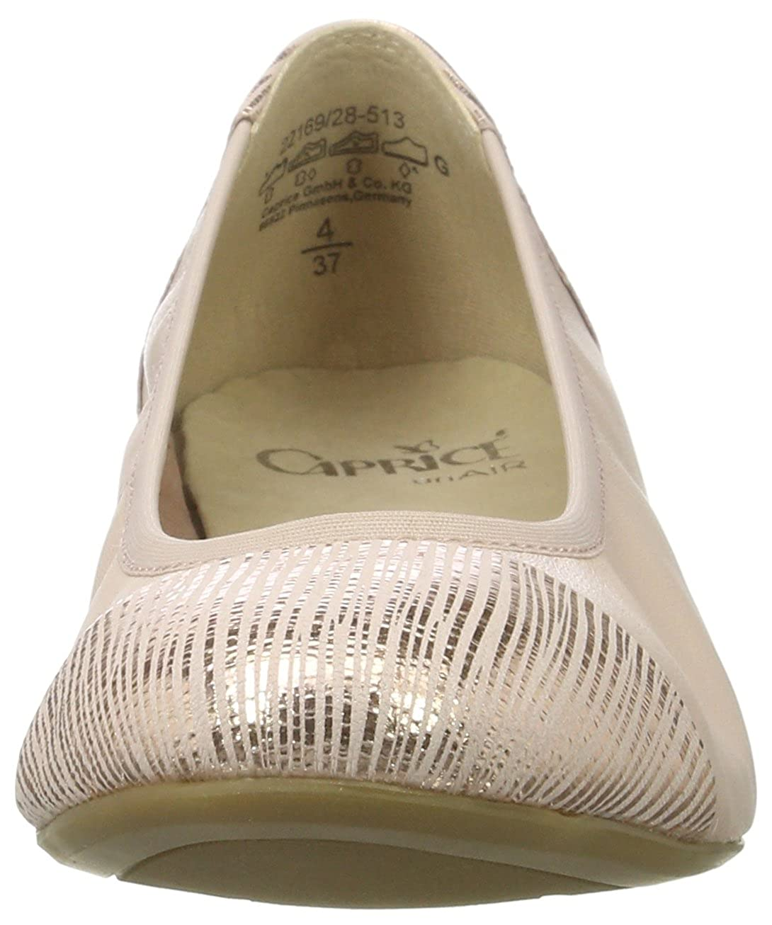 Caprice Damen Ballerinas 22169 Geschlossene Ballerinas Damen e7ad6b