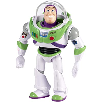 Disney Pixar Toy Story Buzz with Visor Figure: Toys & Games
