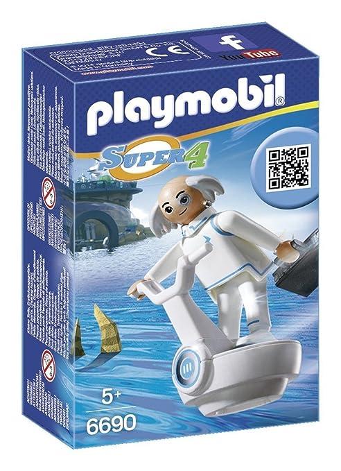 X Figure Building Kit Playmobil PLAYMOBIL/® Super 4 Dr Cranbury 6690