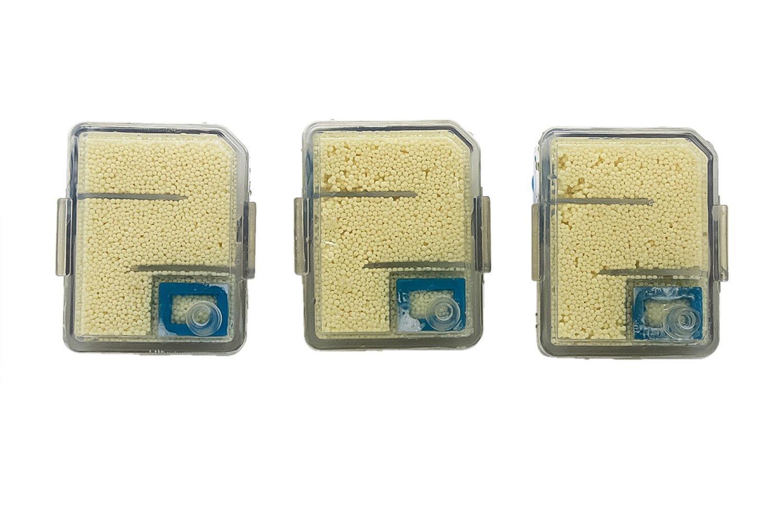 Confezione da 3. Filtro anticalcare di ricambio per le scope a vapore Vax Steam Fresh Combi (alternativa a Tipo 4). Prodotto genuino da Green Label
