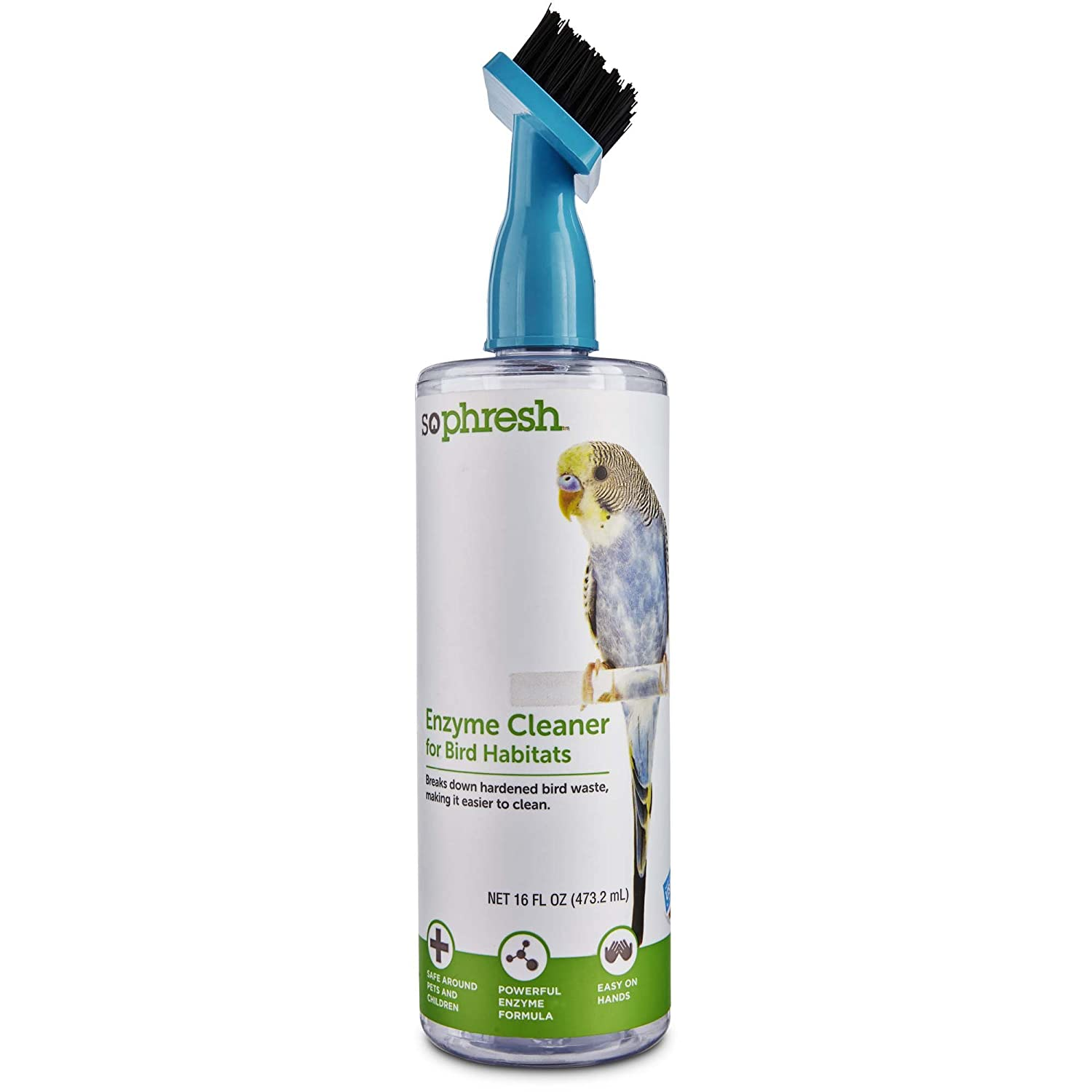 So Phresh Enzyme Cleaner for Bird Habitats 16 oz 16 FZ