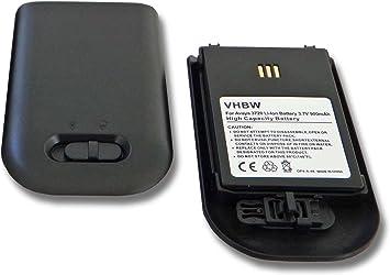 vhbw 2X baterías de 900mAh (3.7V) para teléfono inalámbrico Telefon Alcatel omnitouch 8128, omnitouch 8118 y 0486515, 660190/R1A, DH4-ACAB, y Otros: Amazon.es: Electrónica