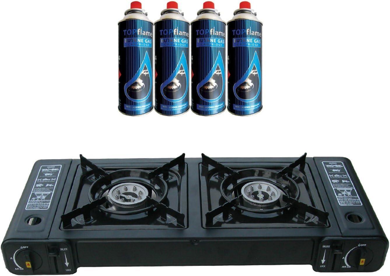 Dual Topflame grabadora de doble tapa para fuegos de cocina ...
