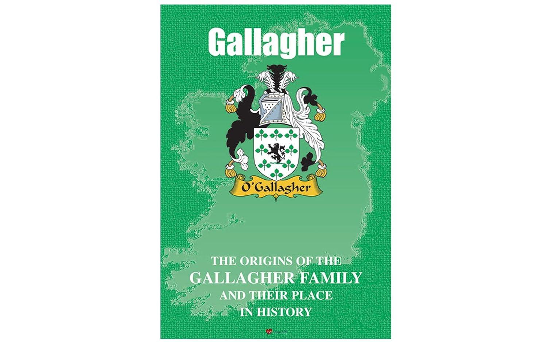 Gallagher Irish Clan History Booklet I Luv LTD