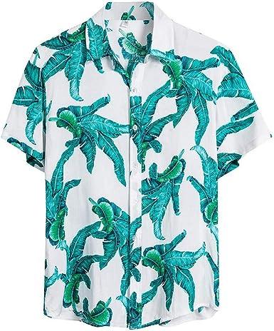 Nueva Camisa Hawaiana para Hombre Camisas Estampada Unisex ...