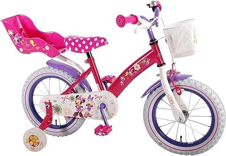 14 pulgadas Disney – Bicicleta infantil niña Bow de Minnie Mouse ...