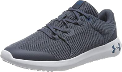 Under Armour UA GS Ripple 2.0, Zapatillas de Running Unisex Niños, Gris (Wire/Ash Gray/Teal Vibe (401) 401), 39 EU: Amazon.es: Zapatos y complementos
